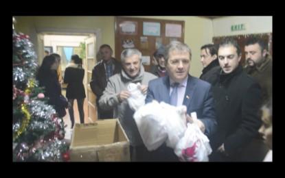 Moşul PSD, la Tăşnad (VIDEO)