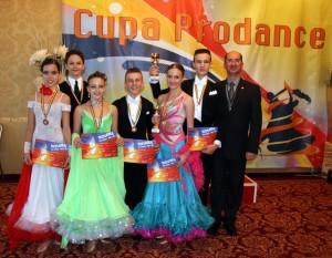 "Royal Dance Club, pe podium la ""Cupa Prodance"""