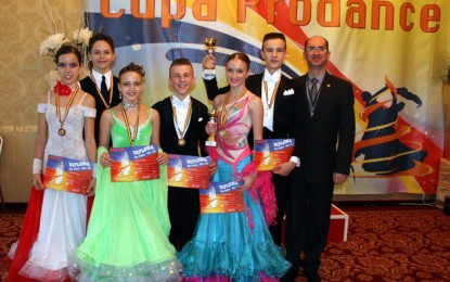 "Royal Dance Club, pe podium la ""Cupa Prodance"" (VIDEO)"