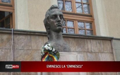 """Colegiul ,,Mihai Eminescu"""" și-a omagiat poetul"""