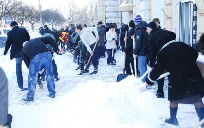Amenzi pentru cei care nu isi curata zapada