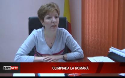 OLIMPIADA LA ROMÂNĂ