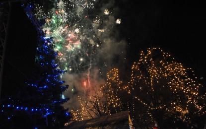 Ucrainienii au sărbătorit Revelionul