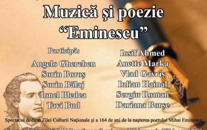 Folk și poezie de ziua lui Eminescu