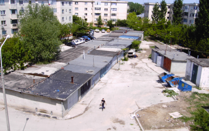 UIltimatum pentru demolarea garajelor