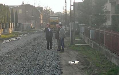 Campanie de modernizare a străzilor pietruite din Negreşti
