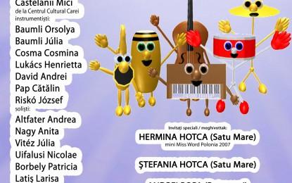 Concert de muzica usoara in aer liber la Carei