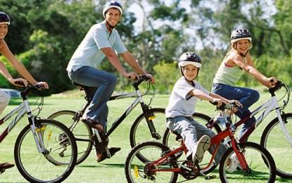 Mersul pe bicicletă, sănătate curată