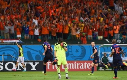Raportul Cupei Mondiale 2014. Olanda a zdrobit campioana mondială. Sfârşitul pentru tiki-taka!