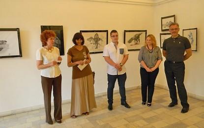 Expoziţie de grafică Leonard Lupu la Muzeul de Artă