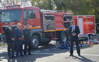 Echipamente noi pentru pompierii satmareni