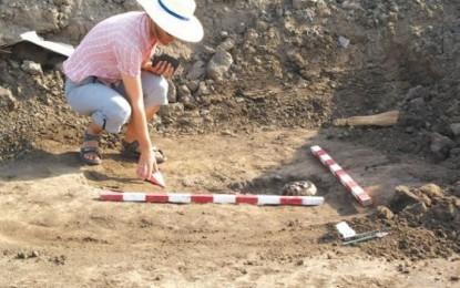 Noi descoperiri privind civilizaţia romană in apropierea unei comune hunedorene