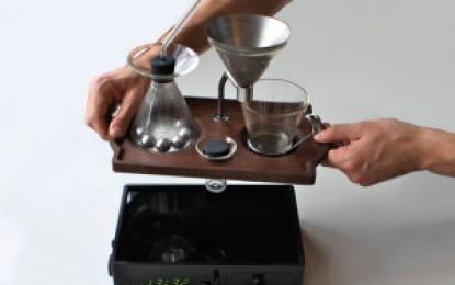 Ceasul deșteptător îți face și cafeaua