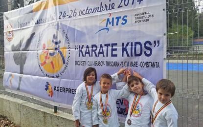 Secția de karate de la CSM crește viitori campioni