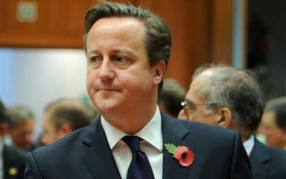 David Cameron refuză să plătească cele două miliarde de euro solicitate de UE pentru bugetul pe anul în curs