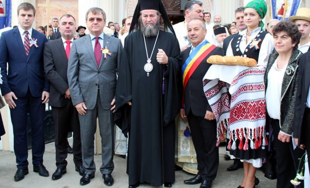 PS Iustin a sfintit biserica din Mediesu Aurit