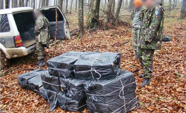 Contrabanda ia amploare la frontiera cu Ucraina