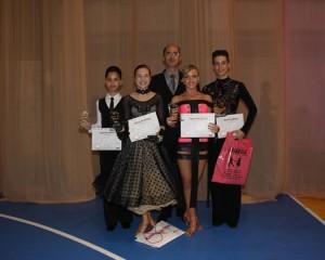 Royal Dance Club, cu patru perechi la Naţionale!