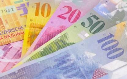 Francul elveţian s-a stabilizat pe pieţele externe
