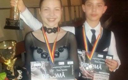 Oana Bumba şi Ciprian Mariţa, vicecampioni naţionali la standard