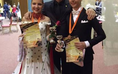 Perechea Oana Bumba- Ciprian Marița, pe trei la Cupa Dance Art