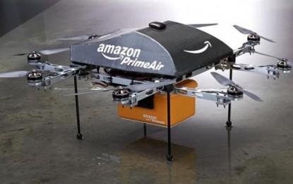 Amazon va folosi drone pentru livrare
