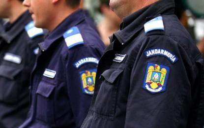 Jandarmii sălăjeni, în stradă (VIDEO)