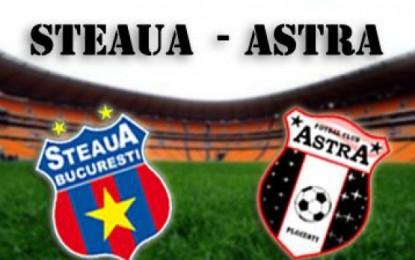 Istvan Kovacs la Astra-Steaua (VIDEO)