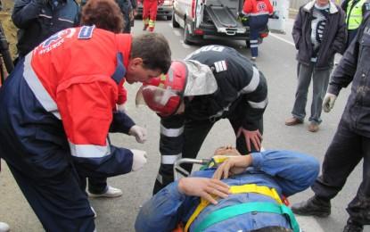 ACCIDENT CUMPLIT în Cluj