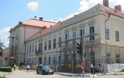 """Monumentul istoric ,,Transilvania"""" se transformă în centru regional de evenimente"""