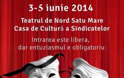Programul Festivalului de Teatru ROTARACT 2014