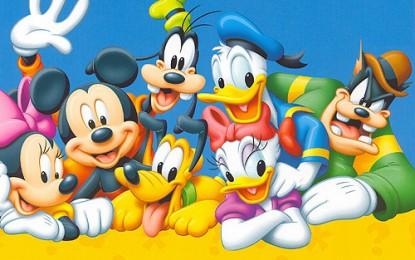 Super spectacol cu personaje Disney