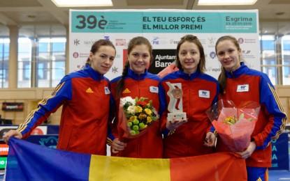 Pop şi Tătăran, bronz cu echipa României