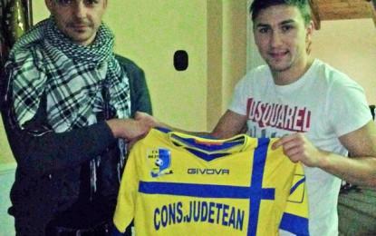 Atacantul Adrian Mărkuş a semnat cu Olimpia