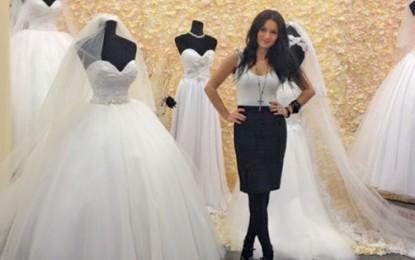 Ioana Călin, cea mai bună creatoare de rochii de mireasă din ţară
