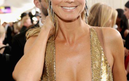 Heidi Klum, apariție incendiară