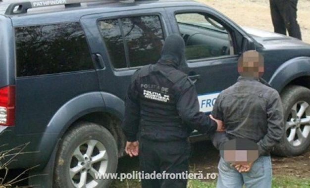 Căutat de autoritățile române, oprit la intrarea în țară